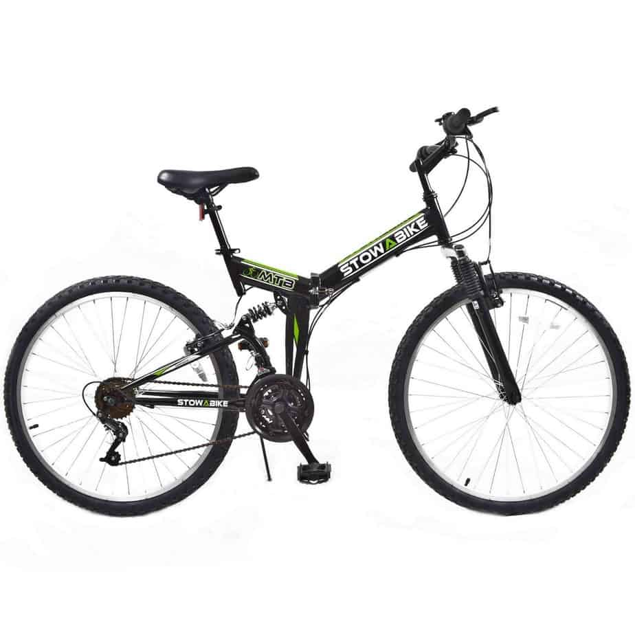 Stowabike 26″ MTB V2 Folding Dual Suspension Mountain Bike