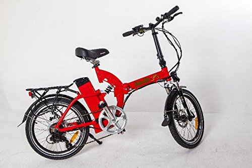 Greenbike USA GB5 Electric Motor Power Bicycle Lithium Battery Folding Bike