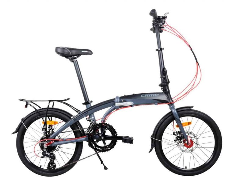 Camp 20″ Alloy 16 Speed Foldable bicycle