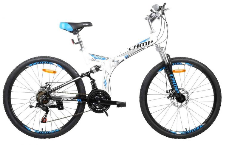 Camp Alloy 26″ Foldable bicycle 21 Speed