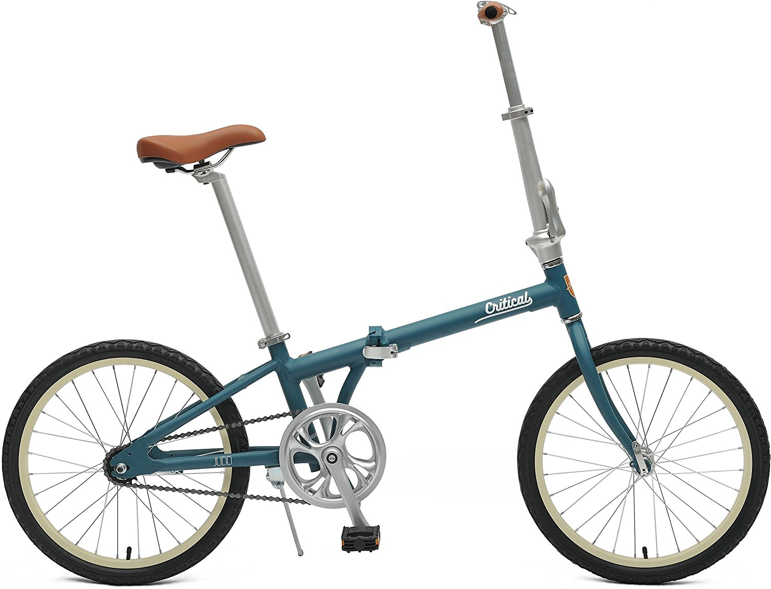 Critical Cycles Judd Folding Bike Single-Speed