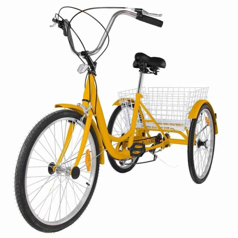 Happybuy 24 Inch Adult Tricycle Series 6/7 Speed
