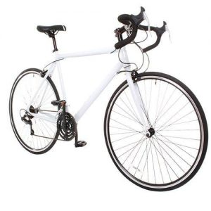 Aluminum-Road-Bike-Commuter-Bike-Shimano-21-Speed-700c-front-trans.