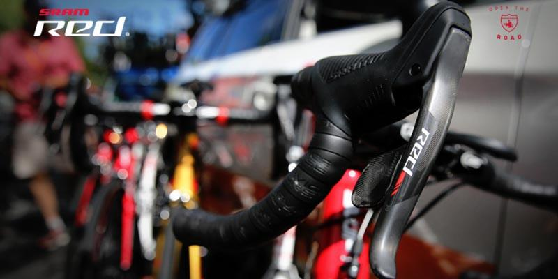 Photo of a SRAM Red lever