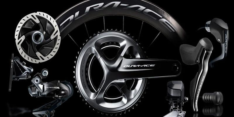 Photo of a Shimano Dura Ace groupset